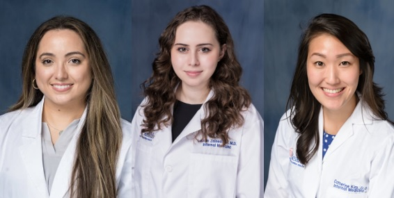 July 2021 Interns and Resident of the Month