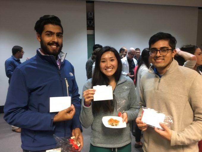 Intern Appreciaton Day Interns with Thank You cards