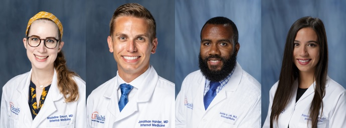 July 2020 Interns of the Month, Residents of the Month and Team of the Month